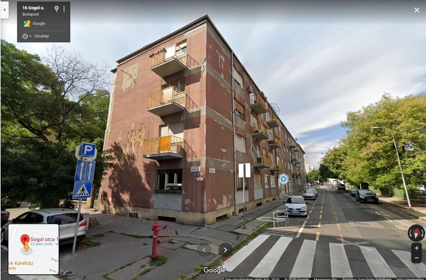 Eladó lakás, Gogol utca.